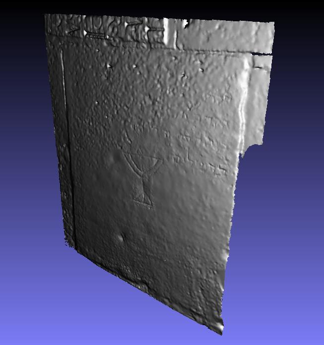 3D image (filtered).